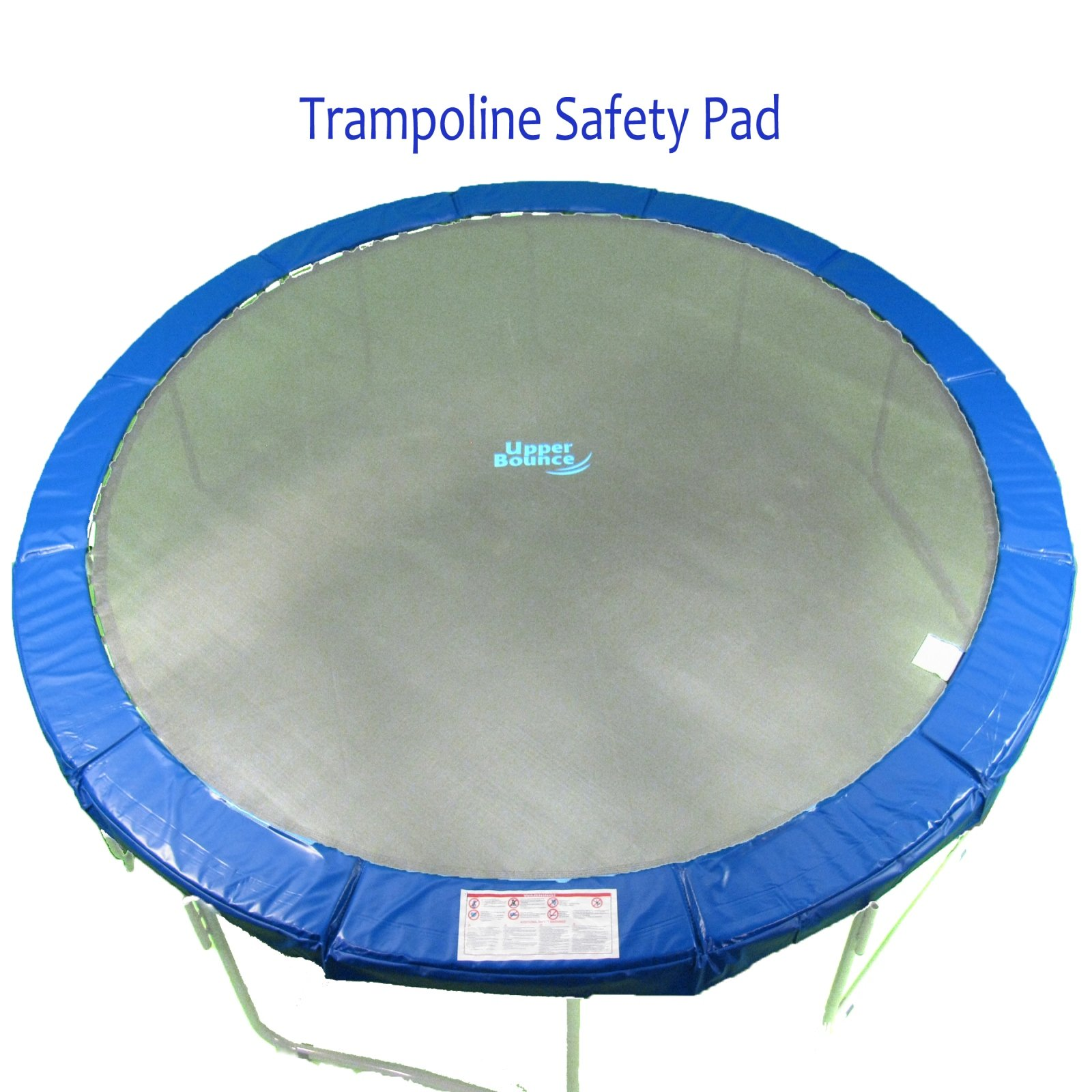 14' Super Trampoline Safety Pad (Spring Cover) Fits for 14 FT. Round Trampoline Frames. 10'' wide - Blue by Upper Bounce