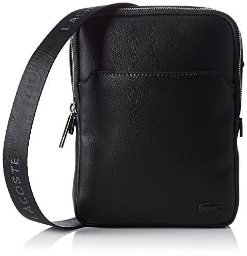Lacoste Men s Sac Homme Access Premium Cross-Body Bag, (Black 000 ... fc715192233b