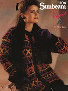 7d54f57d02c2 Sunbeam Knitting Pattern 1211   Girl s Cardigan with Dolman Sleeves ...