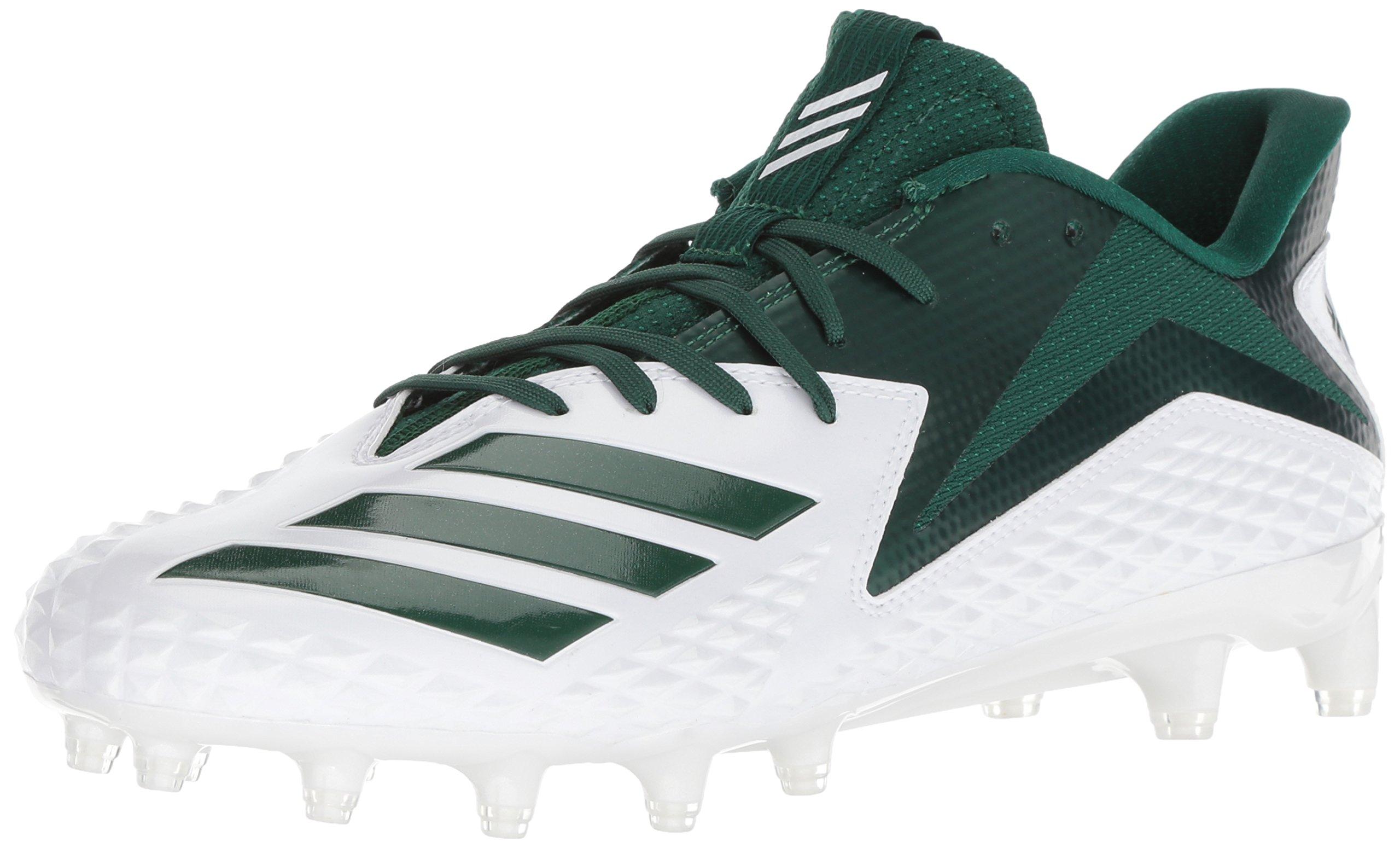 check out 7e8b5 31f06 Galleon - Adidas Mens Freak X Carbon Mid Football Shoe, WhiteDark GreenDark  Green, 18 M US