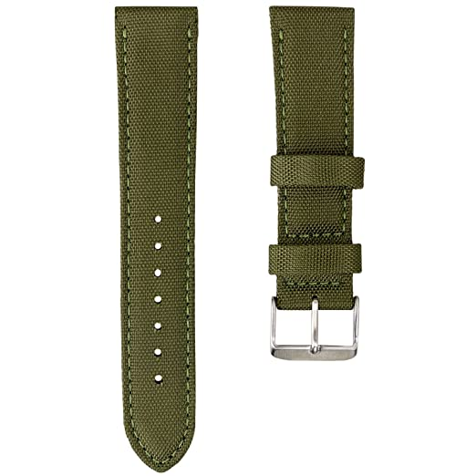 17 opinioni per Cinturino orologio Geckota® Nylon Sport Nylon, 20mm, 22mm