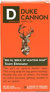 product image for Duke Cannon Supply Co. - Big Ol' Brick of Hunting Soap, Scent Eliminator (10 oz) Superior Grade Unscented, Odor Neutralizing & Eliminating Bar Soap