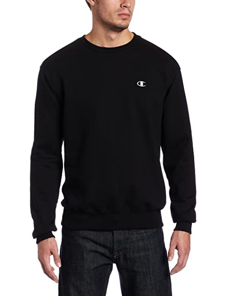 a4ab4d428d30 Amazon.com  Champion Men s Pullover Eco Fleece Sweatshirt  Clothing