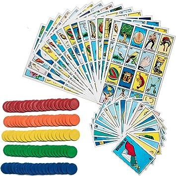 Loteria Juego de Bingo Mexicano – Loteria Mexicana Bingo Juego ...