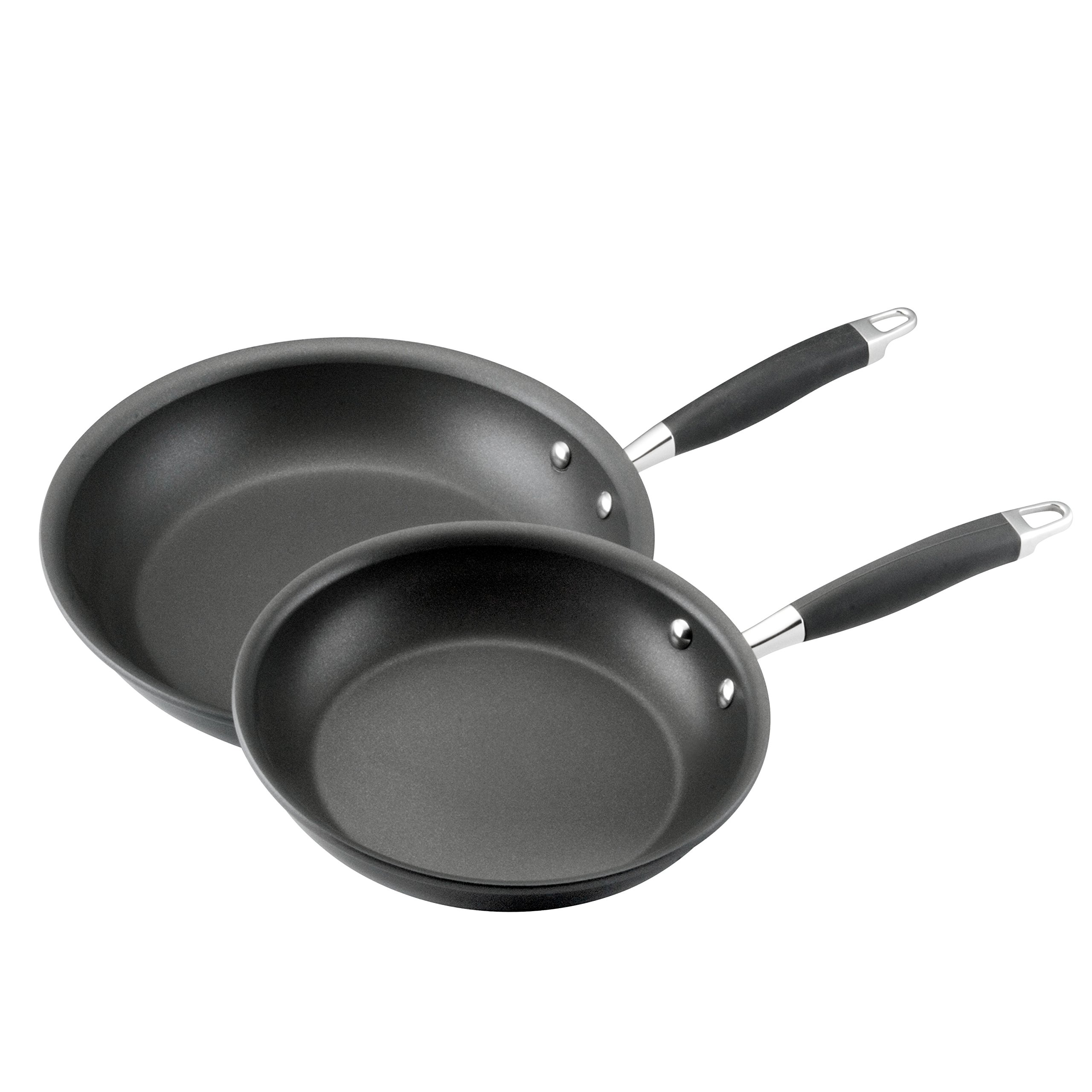 Anolon Advanced Hard Anodized Nonstick 10-Inch and 12-Inch Skillets Twin Pack