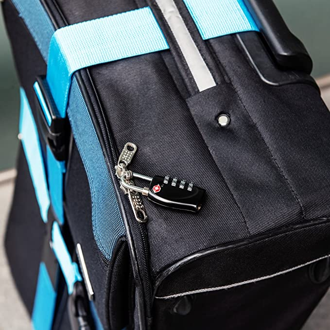 Amazon.com: kwmobile TSA Aprobado cerraduras de equipaje ...