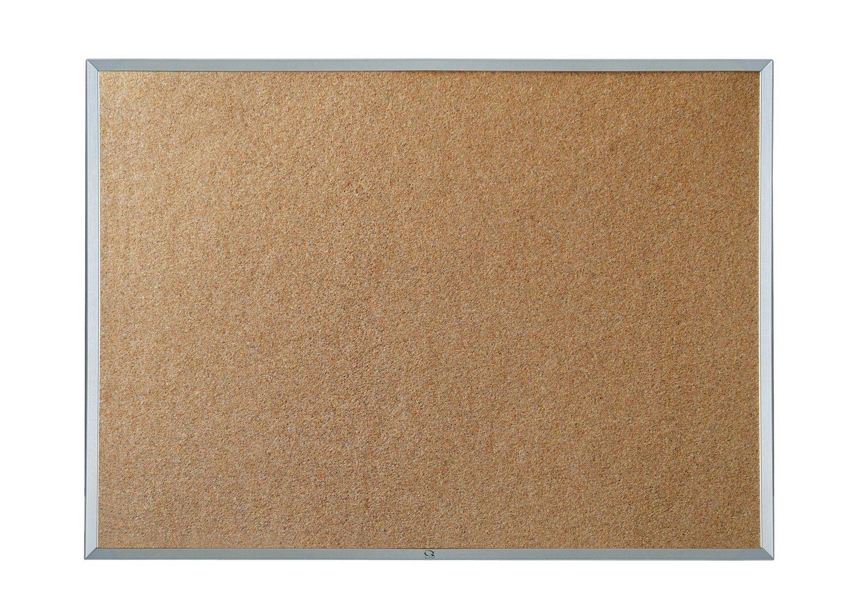 Quartet Economy Cork Bulletin Board, Aluminum Frame, 8 X 4 Feet (3413835148)