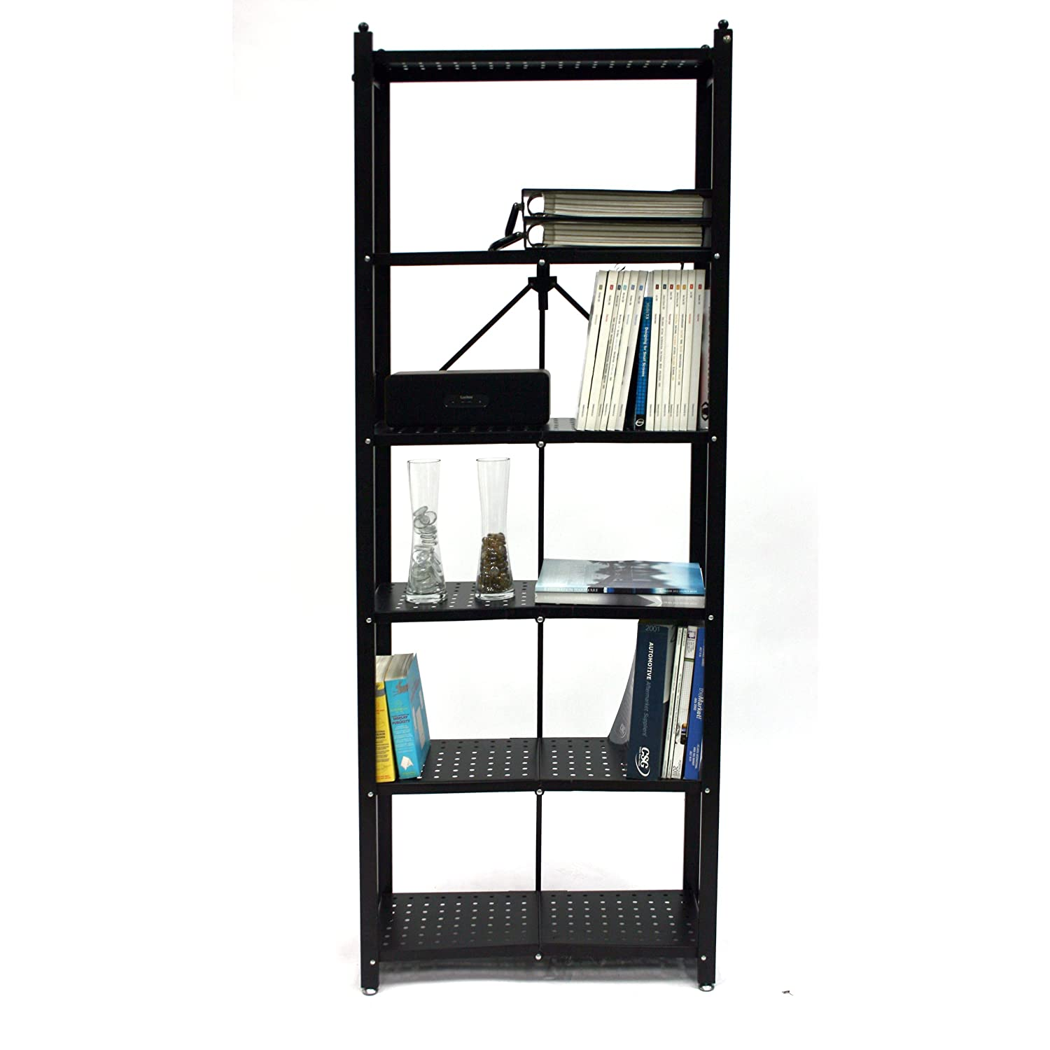 origami rb-01 6-tier bookshelf