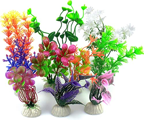 Vascinate-Aquarium-Kunststoff-Pflanzen