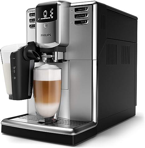 Philips Completamente automáticas EP5333/10 5000 Series-Cafetera (Independiente, Máquina Espresso, 1,8 L, Granos de café, Negro), 1.8 litros: Amazon.es: Hogar
