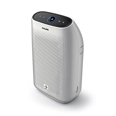 Philips Air Purifier 1000, True HEPA, Reduces Allergens, Pollen, Dust Mites, Mold, Pet Dander, Gases and Odors, for Medium Rooms AC1213/40, Non-Connected for Bedrooms