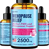 Menopause & PMS Natural Relief with Black Cohosh for Hot Flashes - Made in USA - Supports Healthy Weight Loss - Provides…