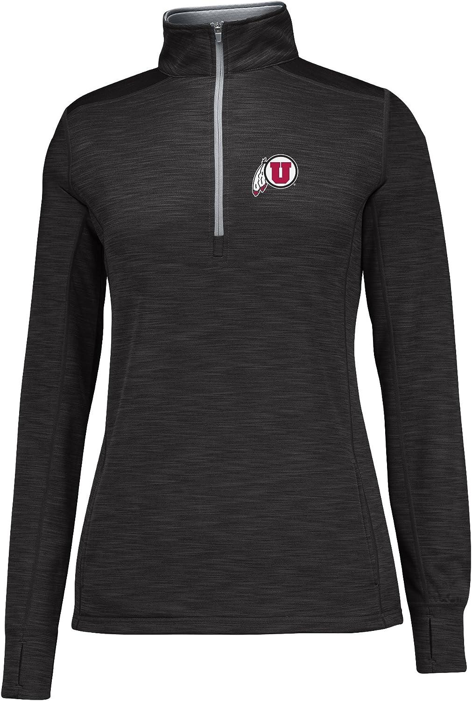 NCAA Womens Courtside Poly Fleece 1//2 Zip Jacket
