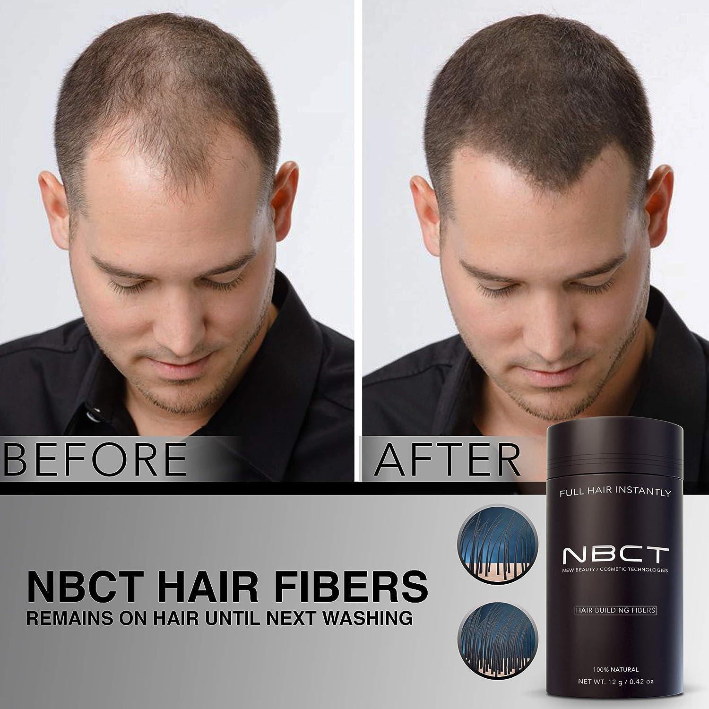 Hair Building Fibers, 12g / 0.42oz - Black NBCT