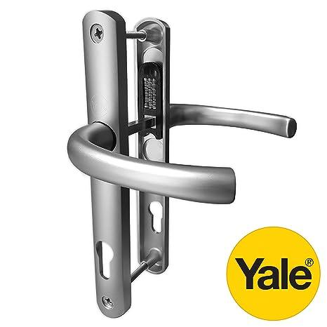 grosor: 2,45 cm, policloruro de vinilo no plastificado, 20-40 mm plateado Buz/ón para puerta HomesSecure