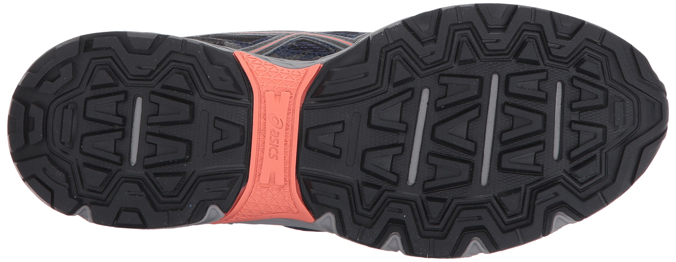 ASICS Women's Gel-Venture 6 Running-Shoes,Indigo Blue/Black/Coral,5 Medium US by ASICS (Image #3)