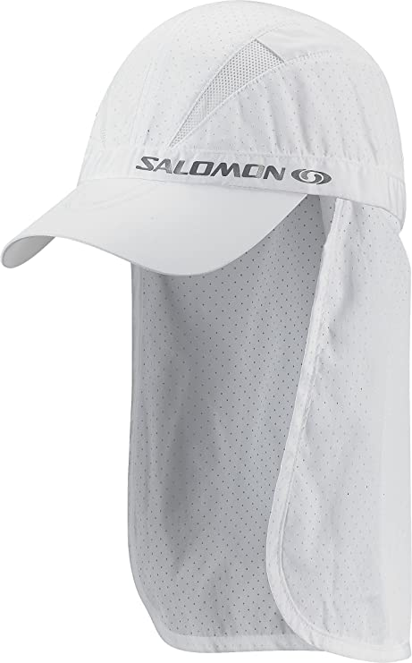 SALOMON - Gorra, tamaño S - M, Color Blanco: Amazon.es: Deportes y ...