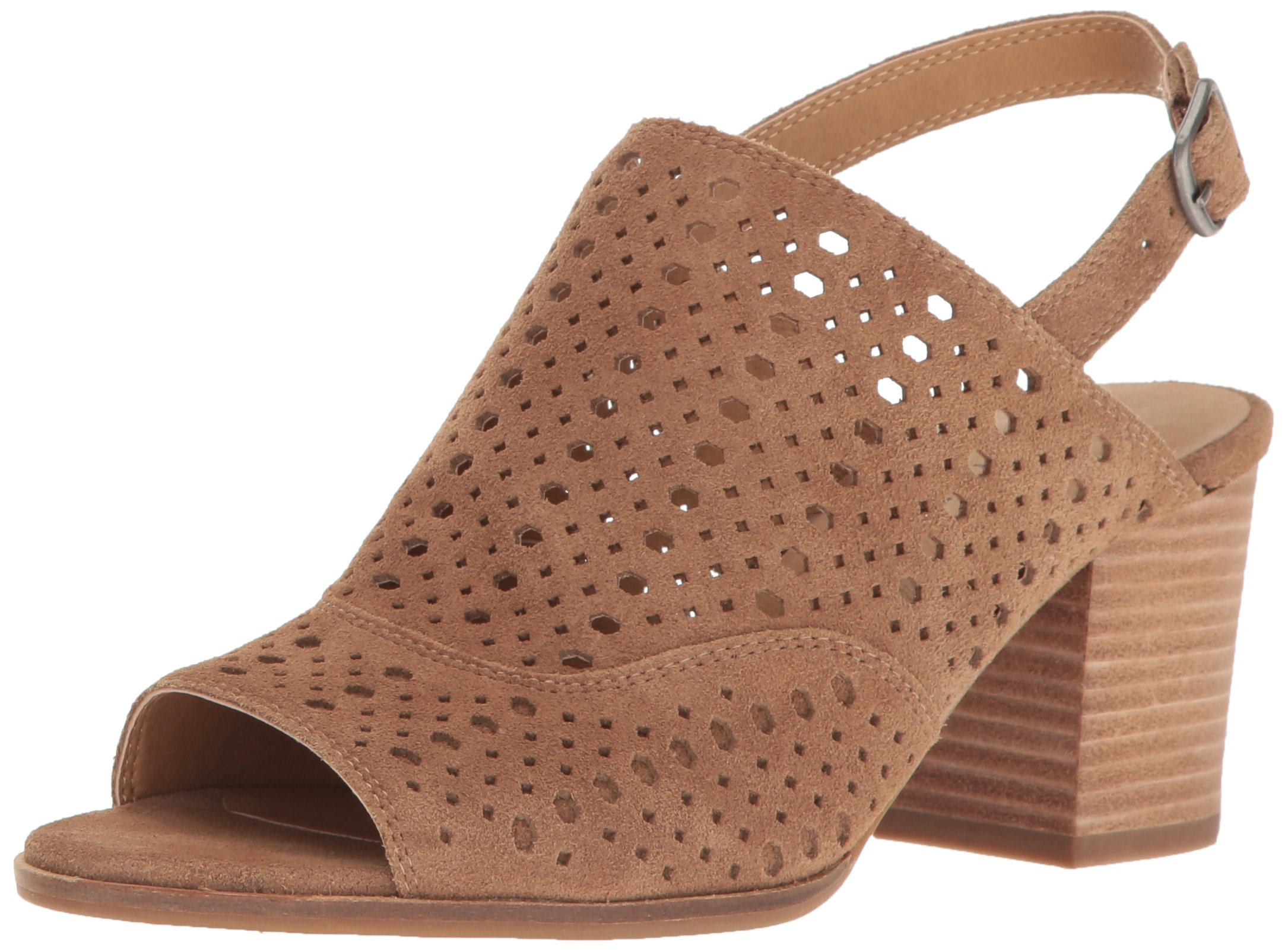 Lucky Women's LK-Ortiza Dress Sandal, Sesame, 9.5 M US