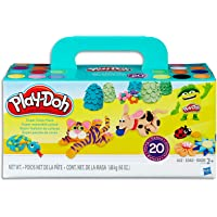 Hasbro A7924 Play-Doh Super Colour Pack inc 20 Tubs of Dough- sensory and educational craft toys for kids, boys, girls…