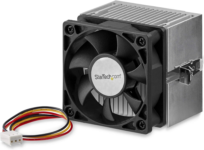StarTech.com FANDURONTB - Disipador con Ventilador para procesador AMD Duron o Athlon Socket A