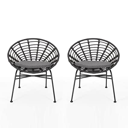 Amazon.com: Great Deal Furniture Yilia Silla de comedor de ...