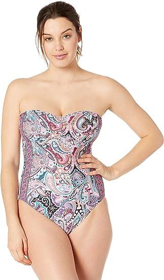 252fd52cc1a4d La Blanca Women s Bandeau One Piece Swimsuit