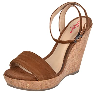 4785971385a7 Red Tape Women s Brown Leather Fashion Sandals - 7 UK India (40 EU ...