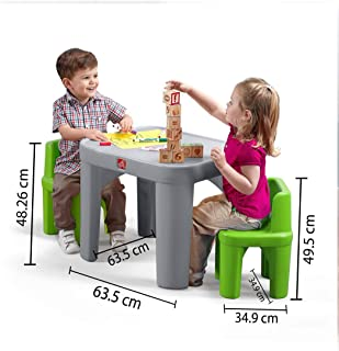 product image for Step2 854400 Mighty My Size Table & Chairs Set