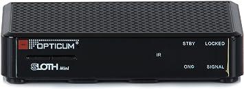 Opticum Sloth - Mini Receptor Digital IP HD DVB-S/S2 (HDTV, DVB ...