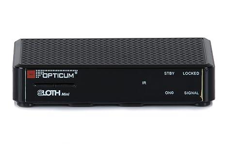 Opticum SLOTH Mini HD DVB-S/S2 Digital IP Receiver (HDTV, DVB-S2, HDMI, SCART, IPTV, LAN, USB)
