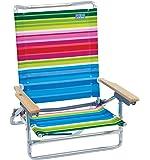 RIO Gear Rio Brands 5 Position Classic Lay Flat Beach Chair