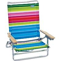 $49 » Rio Beach Classic 5 Position Lay Flat Folding Beach Chair