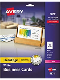Business cards amazon office school supplies paper avery colourmoves Choice Image