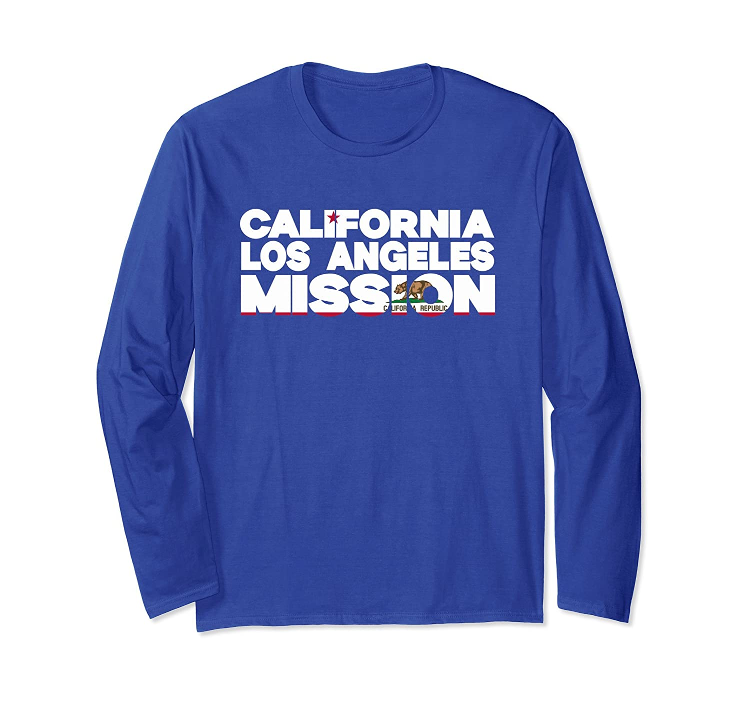 California Los Angeles Mission t-shirt-TH