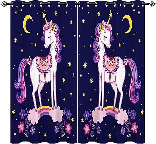ANHOPE Unicorn Curtain