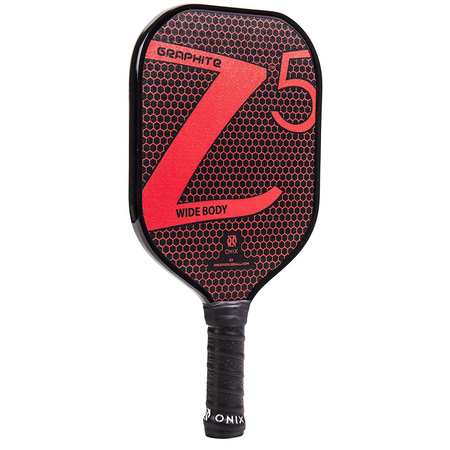 Onix Z5 Graphite Pickleball Paddle and Paddle Cover (Red) by Onix (Image #2)