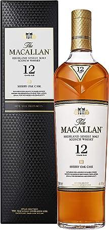 Macallan Sherry Oak 12 Años Single Malt Whisky Escoces, 40% - 700 ml