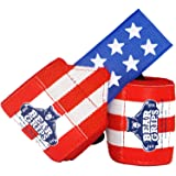 2-Band Wrist Wraps. Ultimate Weightlifting Wrist wrap Support Straps, for Crossfit WODs, Gym Workout, Weight Lifting…