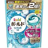 ボールド 洗濯洗剤 ジェルボール3D 爽やかプレミアムクリーンの香り 詰め替え 超特大 34個入