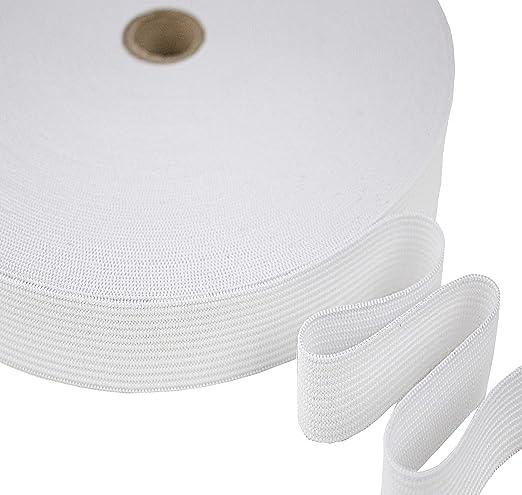 Tukan-tex - Cinta elástica para coser, en anchura de 10,15, 20, 25 ...