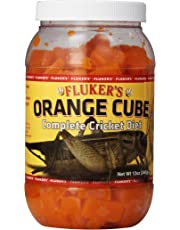 Flukers Orange Cube complet du Régime de cricket, 340,2 gram