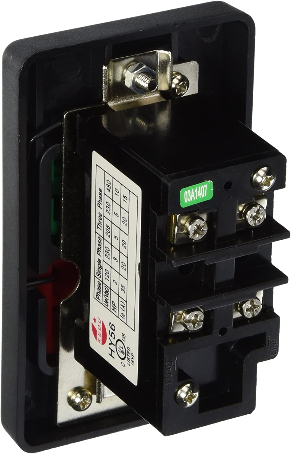 On Off Switch Large Button Single Phase 110//220 Volt Electrical Motor D4157