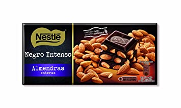 Nestlé Tableta de Chocolate Negro con Almendras - 200 g: Amazon.es: Amazon Pantry