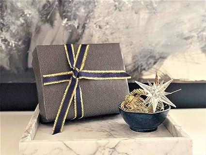 "Gold or Silver Gift Wrap//Packaging 10 or 50 yards 1.5/"" Metallic Ribbon"
