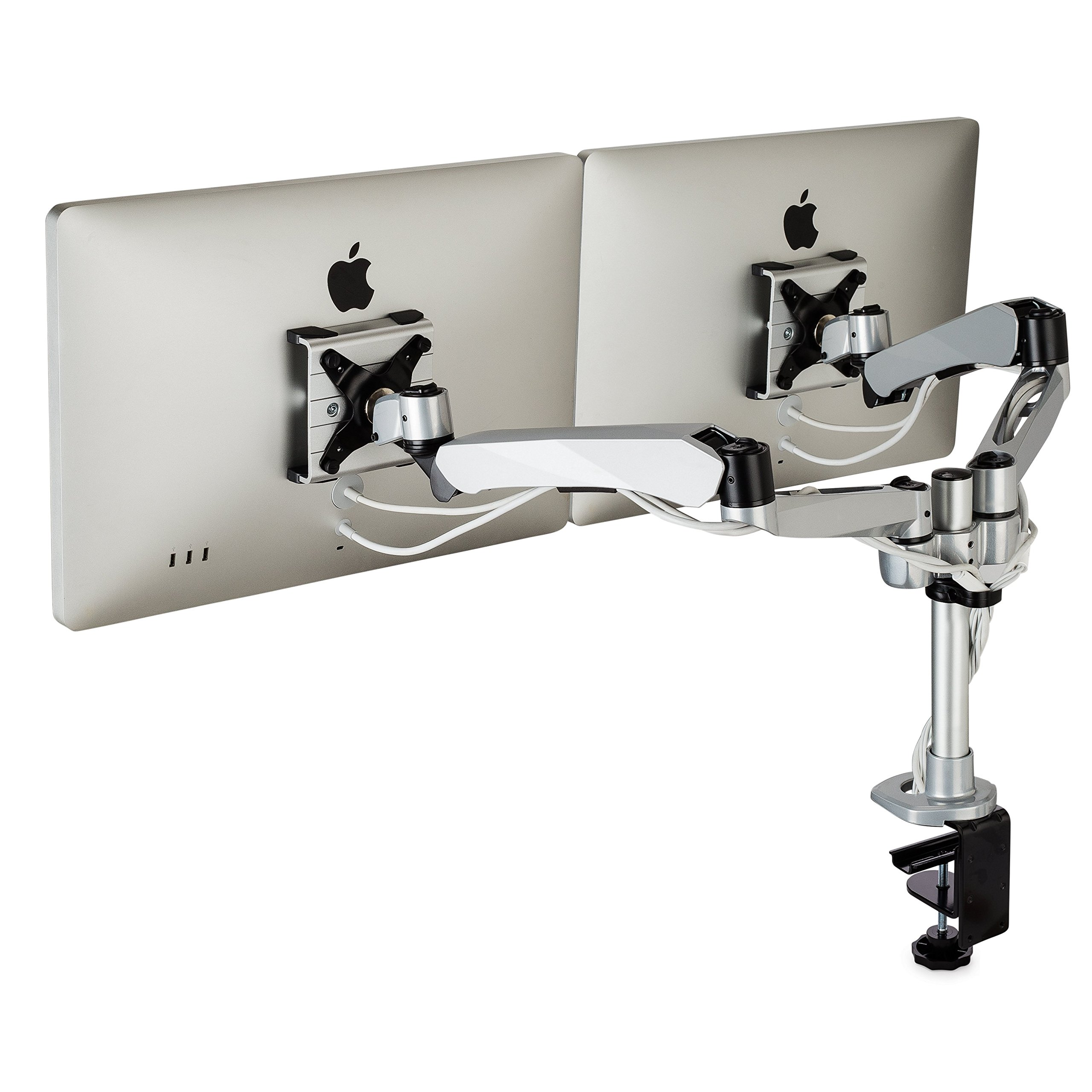 HumanCentric XT-Series Dual Monitor Display Mounting Arm | Premium Monitor Stand & VESA Mount | New 2018 Model