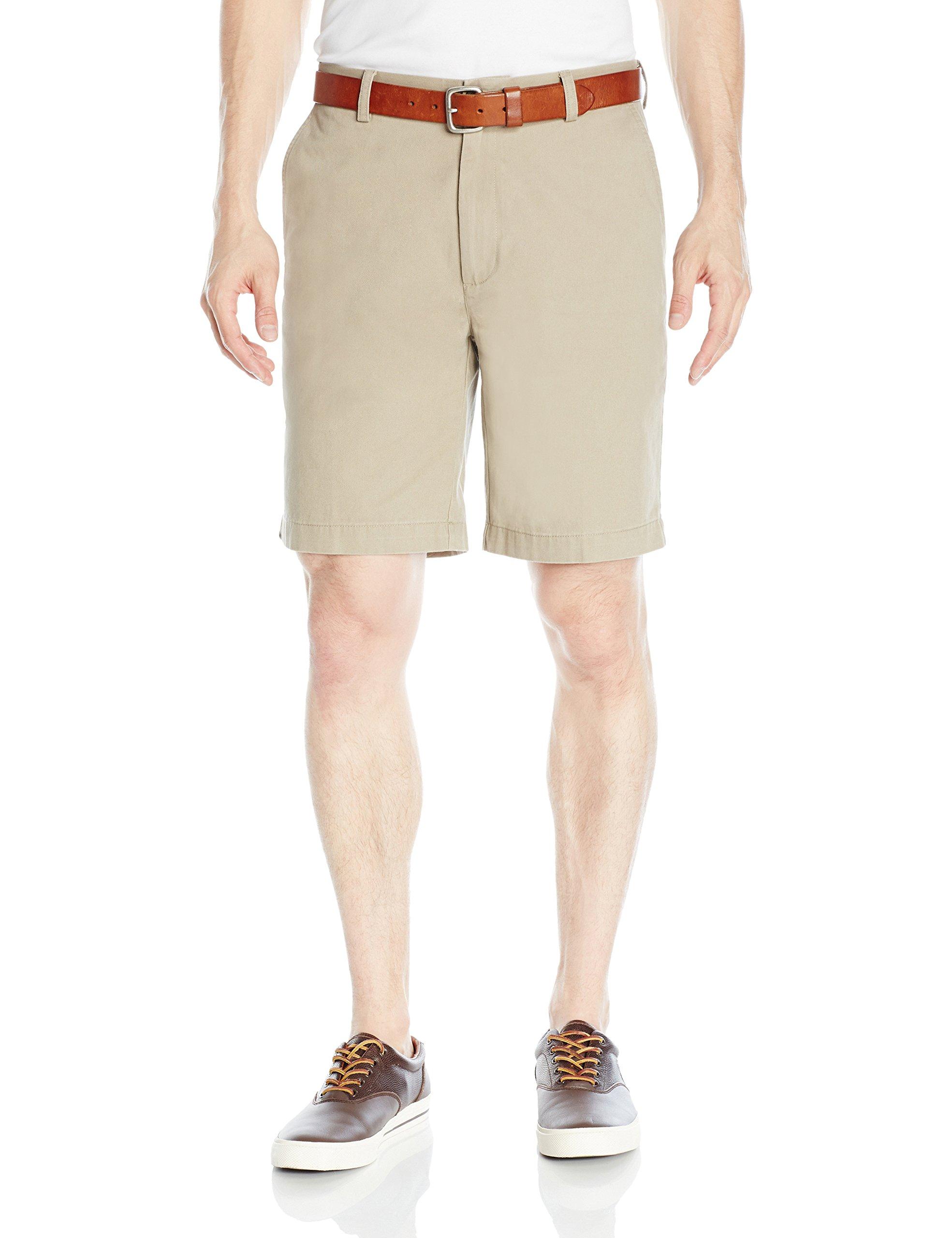 Amazon Essentials Men's Classic-Fit 9'' Short, Khaki, 36