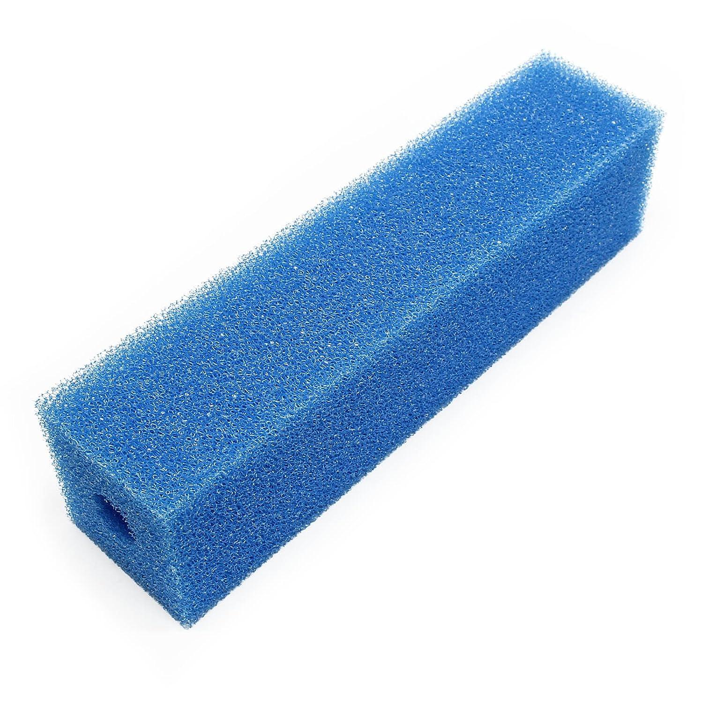 Cartouche de mousse de filtration 9.5x9.5x50cm moyen bleu pour systèmes de filtrage existants SunSun