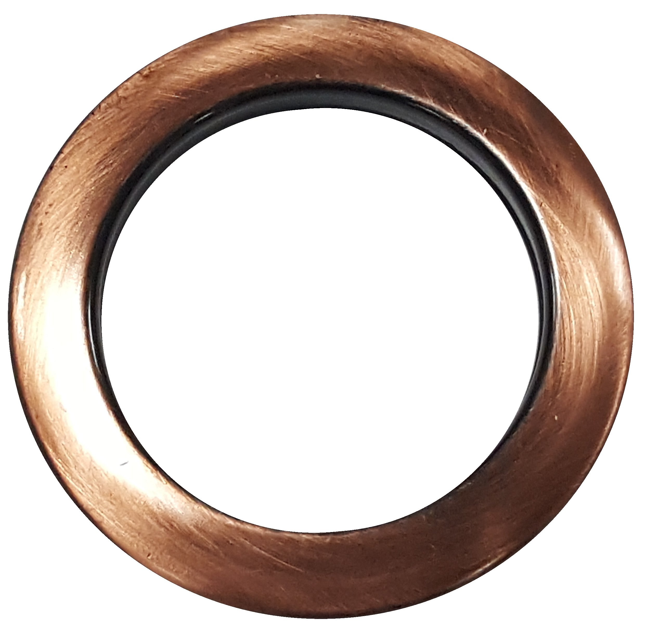 MICRON PLASTIC-ROUND CURTAIN GROMMET PLAIN WASHER (40mm) (BRONZE METALLIC)