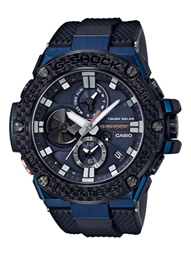CASIO G-Shock GSTB100XB-2A G-Steel Carbon Edition Connected