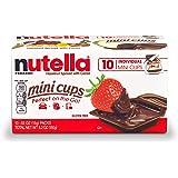 Nutella Mini Cups Hazelnut Spread, 10 Count